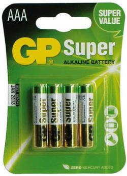 GP Super Alkaline batterier AAA