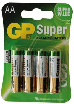 GP Super Alkaline batterier AA