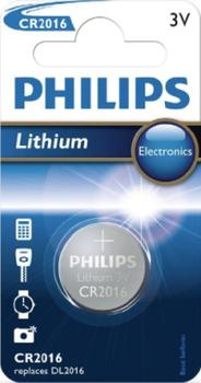 Philips CR2016 batteri