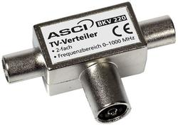TV Antennefordeler 2 vejs, coax - High quality