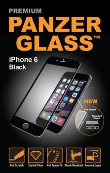 PanzerGlass til iPhone 6, 6S, Full Fit, sort