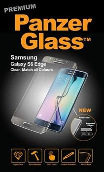 PanzerGlass til Samsung Galaxy S6 Edge, Full Fit