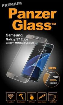 Panzer Glass til Samsung Galaxy S7 Edge, Full Fit