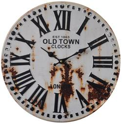 "Retro vægur - ""Old town clocks"""