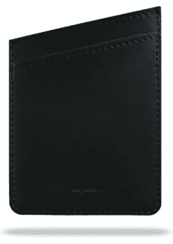 Puro Universal Shiny Pocket, 2 kortlommer, sort
