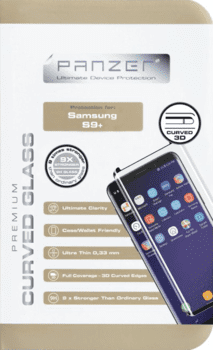 Panzer til Samsung Galaxy S9 Plus, sort