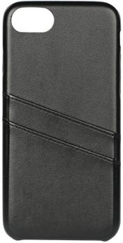 Essentials iPhone 8/7/6S Plus, Dual Card Cover, sort