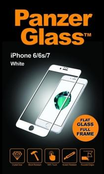 PanzerGlass til iPhone 8, Full Fit, hvid