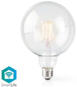 Nedis Wi-Fi smart LED glødepære, 125mm, E27 - 5 watt
