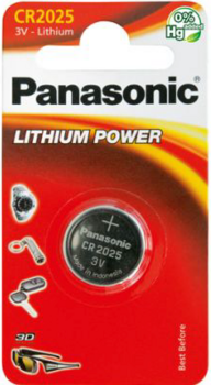 Panasonic CR2025 batteri