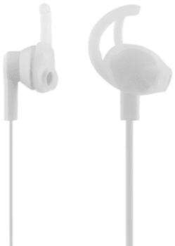 STREETZ stay-in-ear headset - hvid